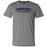 CrossFit Vox - 100 - Blue & Red - Bella + Canvas - Men's Short Sleeve Jersey Tee