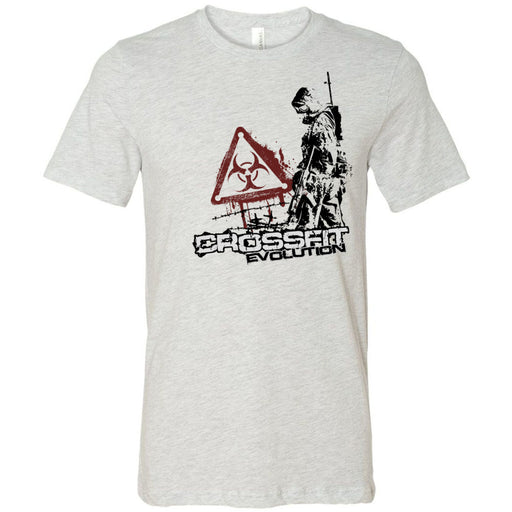 CrossFit Evolution - 100 - Biohazard - Bella + Canvas - Men's Short Sleeve Jersey Tee