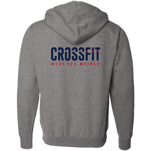 CrossFit West Des Moines - 201 - CFWDM - Independent - Hooded Pullover Sweatshirt