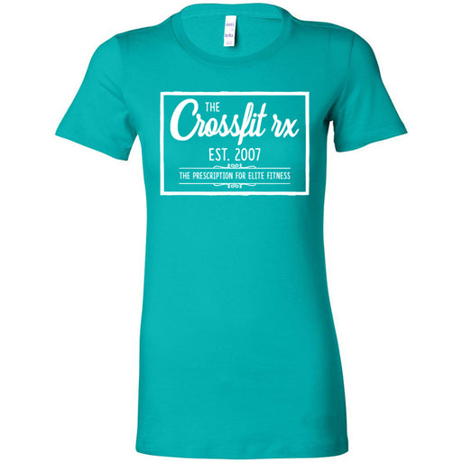 CrossFit Rx - 100 - Old Style - Bella + Canvas - Women's The Favorite Tee