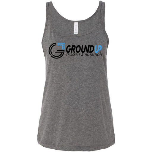 CrossFit Ground Up - 100 - Standard - Bella + Canvas - Women's Relaxed Jersey Tank