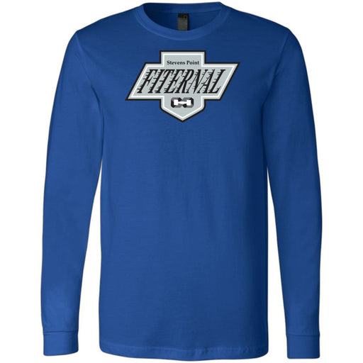 Fiternal CrossFit - 202 - King Style - Bella + Canvas 3501 - Men's Long Sleeve Jersey Tee