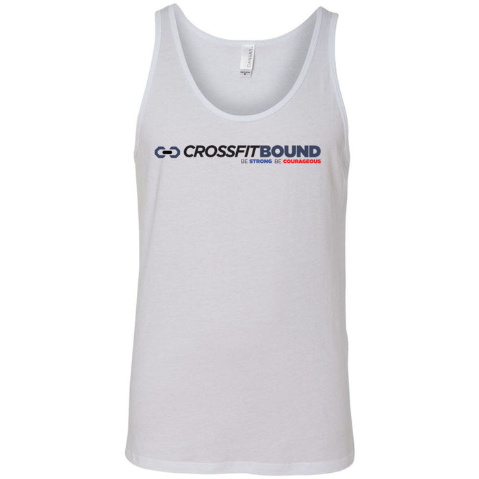 CrossFit Bound - 100 - Standard - Bella + Canvas - Men's Jersey Tank
