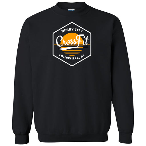 Derby City CrossFit - 100 - AA2 Paradise - Gildan - Heavy Blend Crewneck Sweatshirt