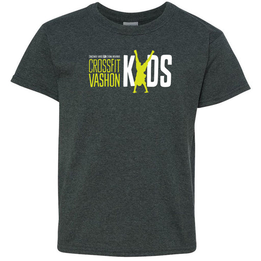CrossFit Vashon - 100 - Kids - Gildan - Heavy Cotton Youth T-Shirt