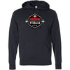 CrossFit Visalia - 100 - Barbell - Independent - Hooded Pullover Sweatshirt