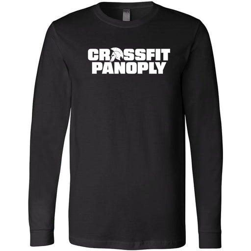 CrossFit Panoply - 202 - Worn Flag - Bella + Canvas 3501 - Men's Long Sleeve Jersey Tee