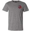 3 Star CrossFit - 100 - Pocket - Bella + Canvas - Men's Short Sleeve Jersey Tee