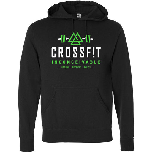 CrossFit Inconceivable - 100 - CFINC - Independent - Hooded Pullover Sweatshirt