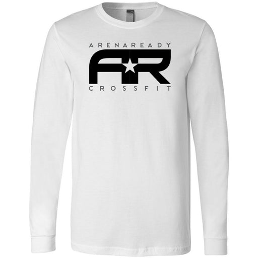Arena Ready CrossFit - 202 - Definition - Bella + Canvas 3501 - Men's Long Sleeve Jersey Tee