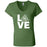 Grand Trunk CrossFit - 100 - LOVE - Bella + Canvas - Women's Short Sleeve Jersey V-Neck Tee