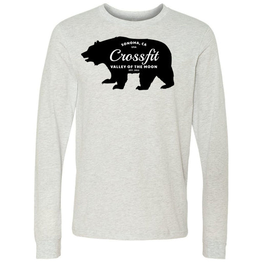 CrossFit Valley of the Moon - 100 - 05 Wilderness - Bella + Canvas 3501 - Men's Long Sleeve Jersey Tee