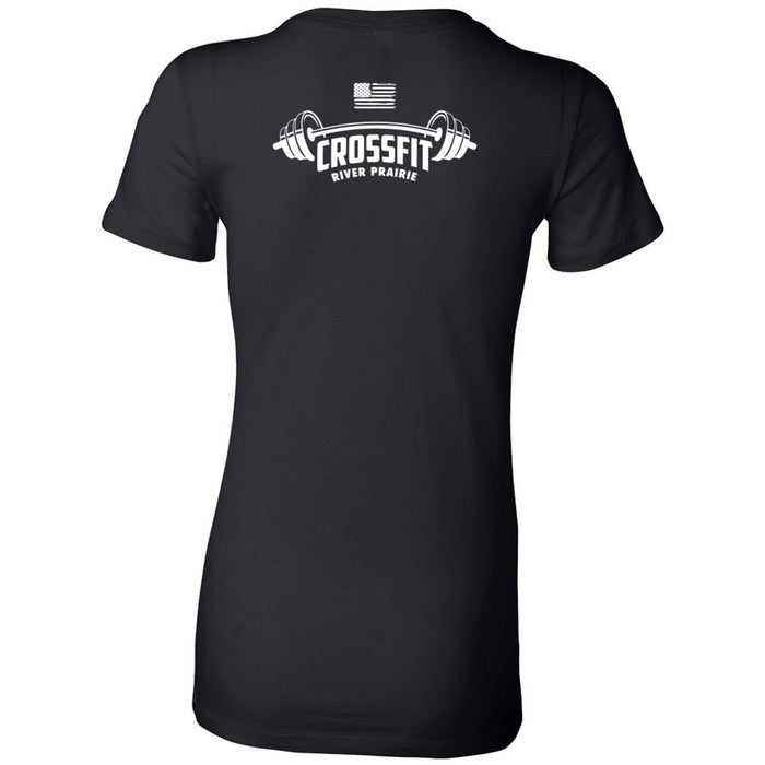 CrossFit River Prairie - 200 - Left - Bella + Canvas - Women's The Favorite Tee