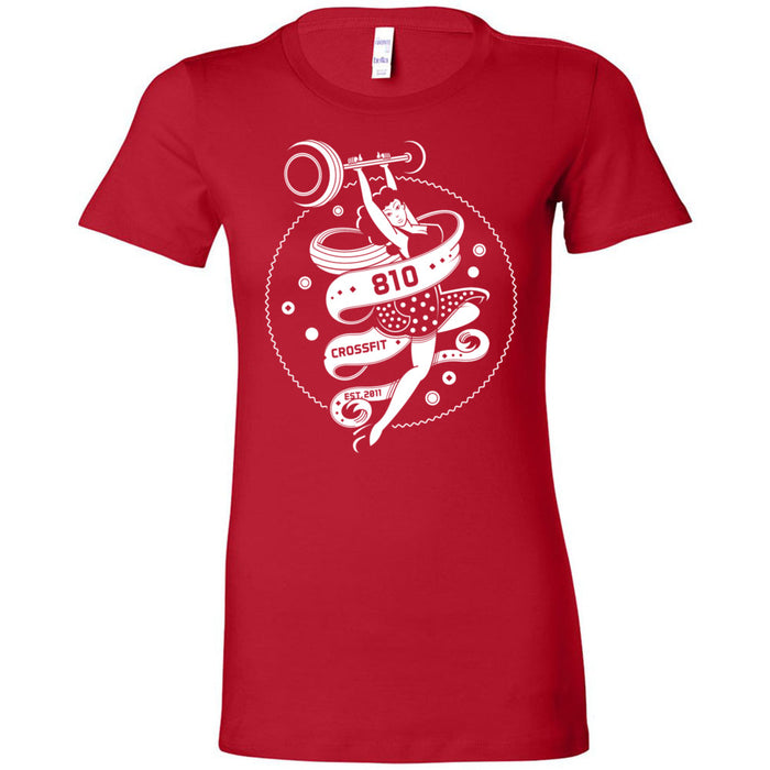810 CrossFit - 100 - Barbell - Bella + Canvas - Women's The Favorite Tee