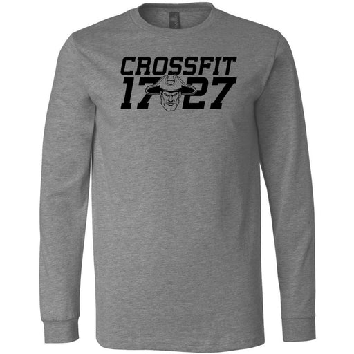 CrossFit 1727 - 100 - One Color - Bella + Canvas 3501 - Men's Long Sleeve Jersey Tee