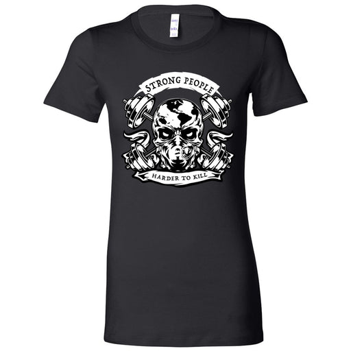 CrossFit Algiers - 200 - Strong People - Bella + Canvas - Women's The Favorite Tee