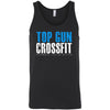 Top Gun CrossFit - 100 - Distressed - Bella + Canvas - Men's Jersey Tank
