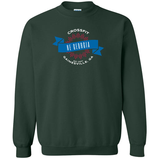 CrossFit NE Georgia - 100 - L1 - Gildan - Heavy Blend Crewneck Sweatshirt