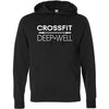CrossFit Deep Well - 100 - CFDW - Independent - Hooded Pullover Sweatshirt