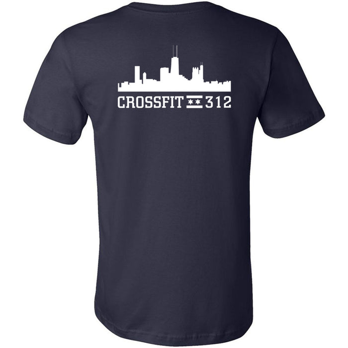 CrossFit 312 - 200 - Pride - Bella + Canvas - Men's Short Sleeve Jersey Tee