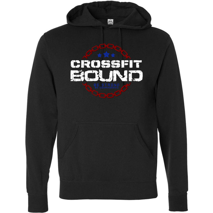 CrossFit Bound - 100 - CFB - Independent - Hooded Pullover Sweatshirt