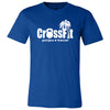 CrossFit Poipu - 100 - Standard - Bella + Canvas - Men's Short Sleeve Jersey Tee
