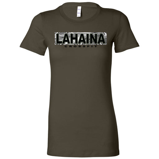Lahaina CrossFit - 100 - Hawaii Army - Bella + Canvas - Women's The Favorite Tee