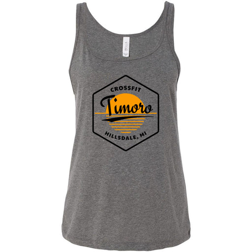 CrossFit Timoro - 100 - AA2 Paradise - Bella + Canvas - Women's Relaxed Jersey Tank