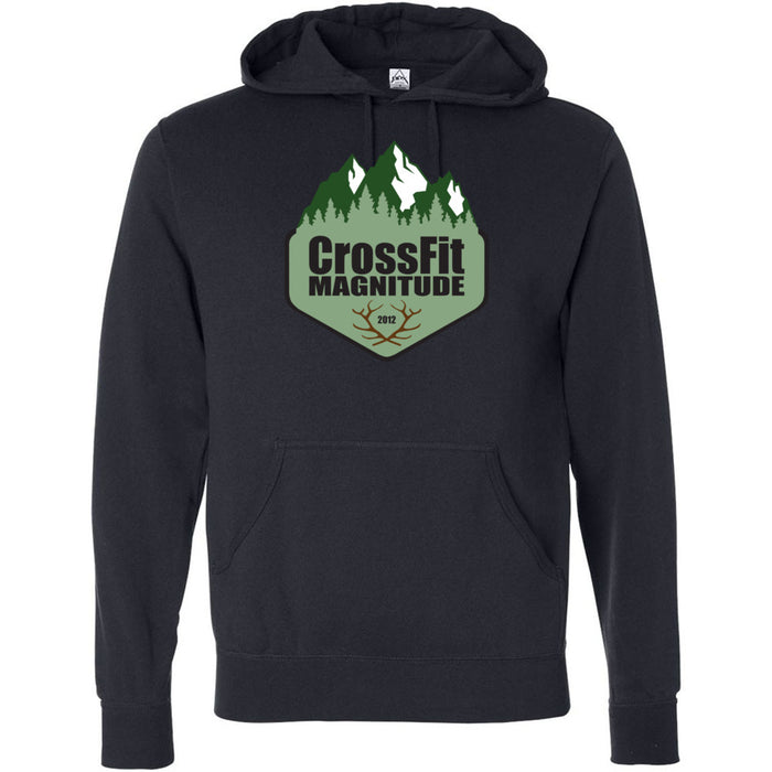 CrossFit Magnitude - 100 - Green - Independent - Hooded Pullover Sweatshirt