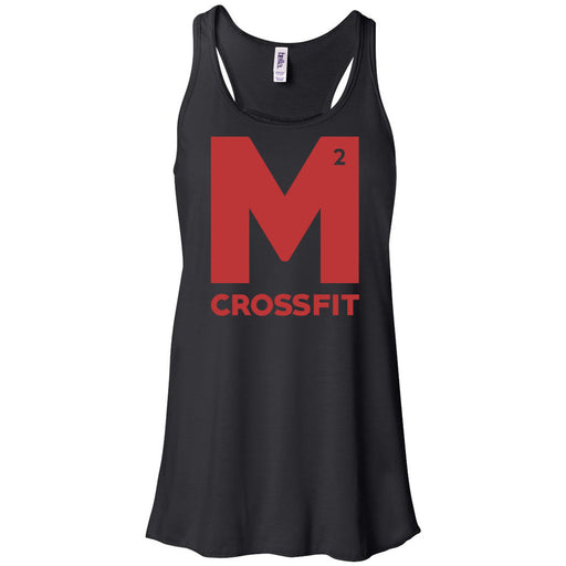 CrossFit M2 - 100 - M2 Red - Bella + Canvas - Women's Flowy Racerback Tank