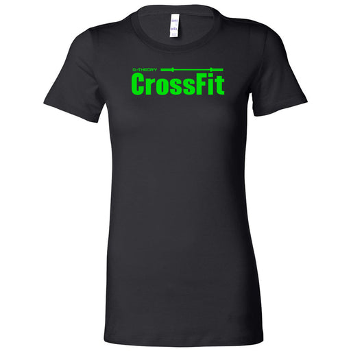 G-Theory CrossFit - 100 - Stacked Green - Bella + Canvas - Women's The Favorite Tee