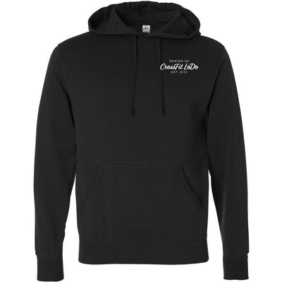 CrossFit Lodo - 100 - Pocket - Independent - Hooded Pullover Sweatshirt