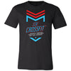 S3E CrossFit - 100 - 2020 Open 20.2 - Bella + Canvas - Men's Short Sleeve Jersey Tee