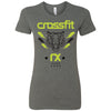 CrossFit Rx - 100 - Tiger - Bella + Canvas - Women's The Favorite Tee