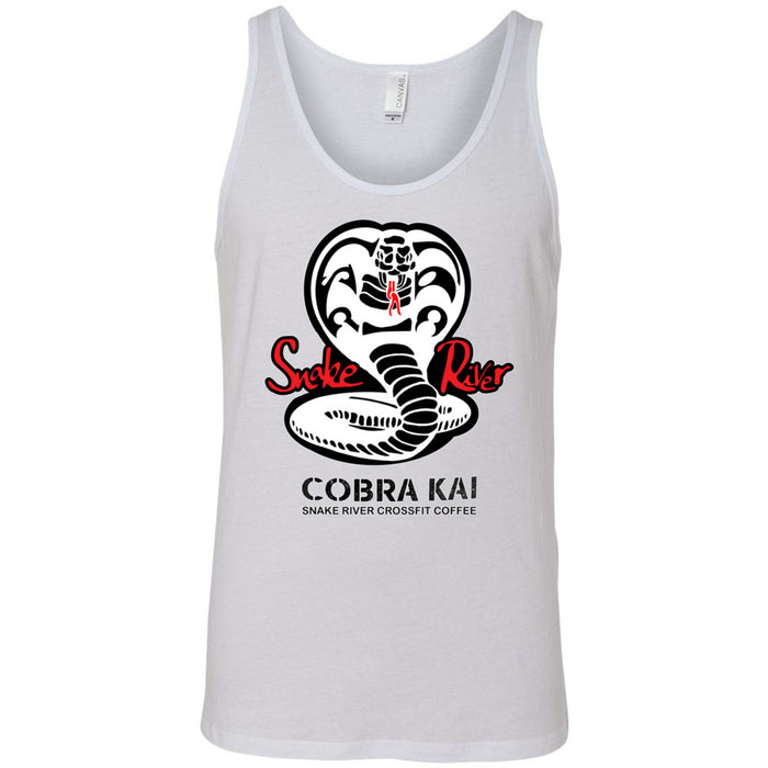 Snake River CrossFit - 100 - Cobra Kai Coffee - Bella + Canvas - Men's Jersey Tank