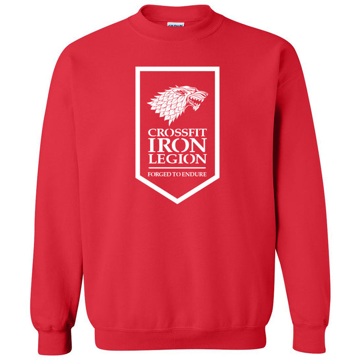 CrossFit Iron Legion - 100 - Standard - Gildan - Heavy Blend Crewneck Sweatshirt