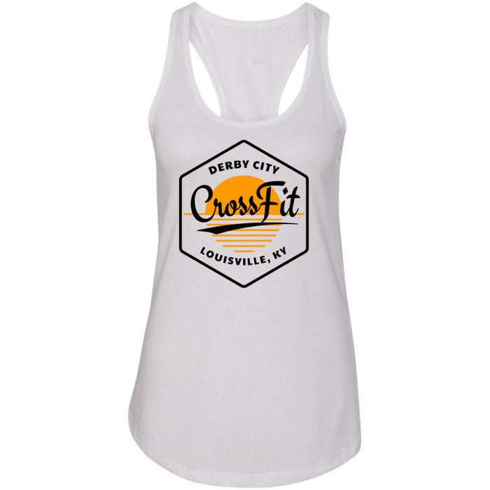 Derby City CrossFit - 100 - AA2 Paradise - Next Level - Women's Ideal Racerback Tank