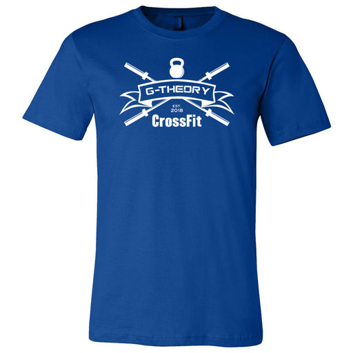 G-Theory CrossFit - 100 - One Color - Bella + Canvas - Men's Short Sleeve Jersey Tee