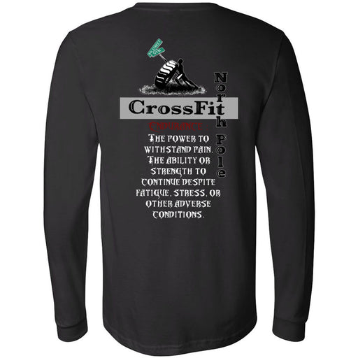 CrossFit North Pole - 202 - Endurance - Bella + Canvas 3501 - Men's Long Sleeve Jersey Tee