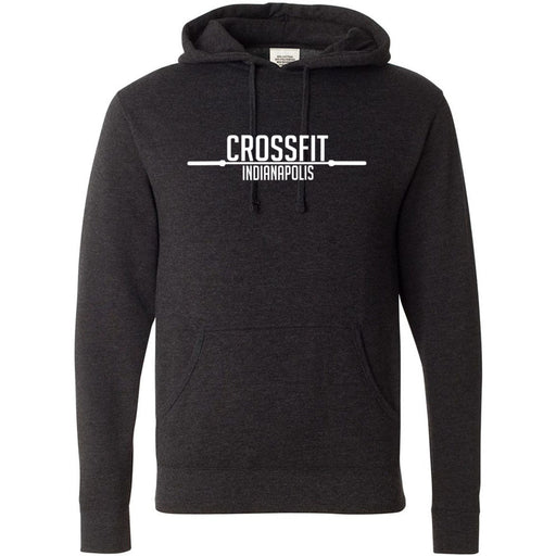 CrossFit Indianapolis - 100 - Barbell - Independent - Hooded Pullover Sweatshirt