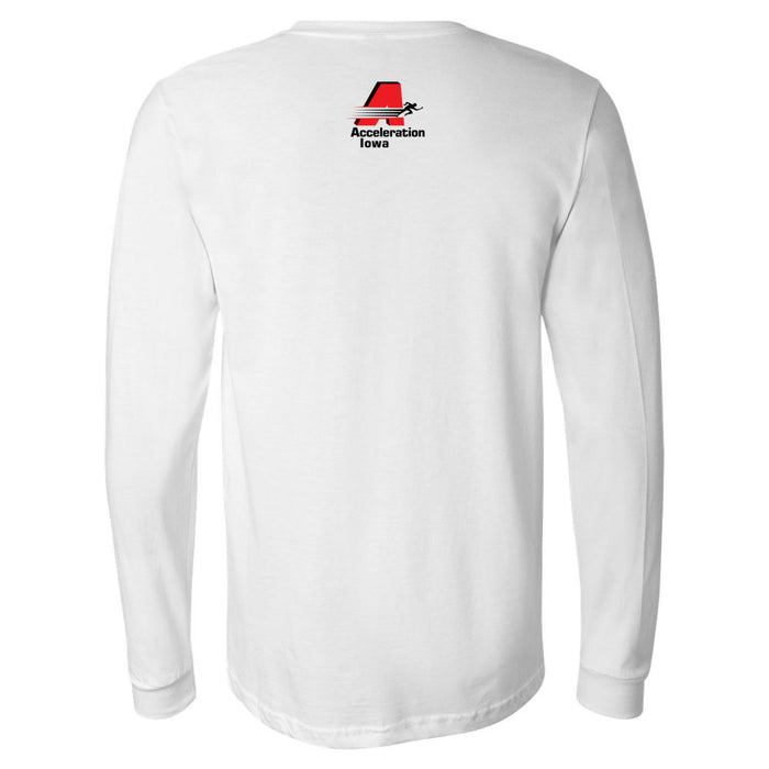 CrossFit Waukee - 202 - AI - Bella + Canvas 3501 - Men's Long Sleeve Jersey Tee