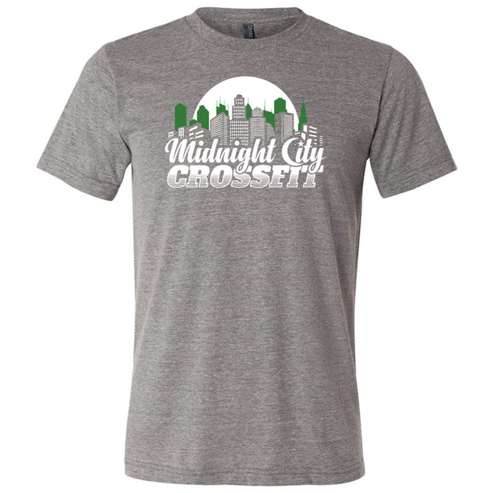 Midnight City CrossFit - 100 - MCC - Bella + Canvas - Men's Triblend Short Sleeve Tee