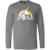 CrossFit Loft - 202 - Unicorn 2 - Bella + Canvas 3501 - Men's Long Sleeve Jersey Tee