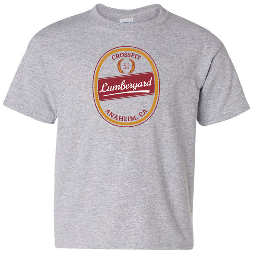 CrossFit Lumberyard - 100 - Crafted - Gildan - Heavy Cotton Youth T-Shirt