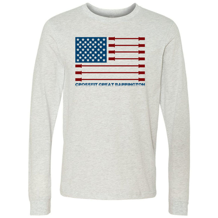 CrossFit Great Barrington - 202 - Patriot - Bella + Canvas 3501 - Men's Long Sleeve Jersey Tee
