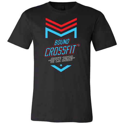 CrossFit Bound - 100 - 2020 Open - Bella + Canvas - Men's Short Sleeve Jersey Tee