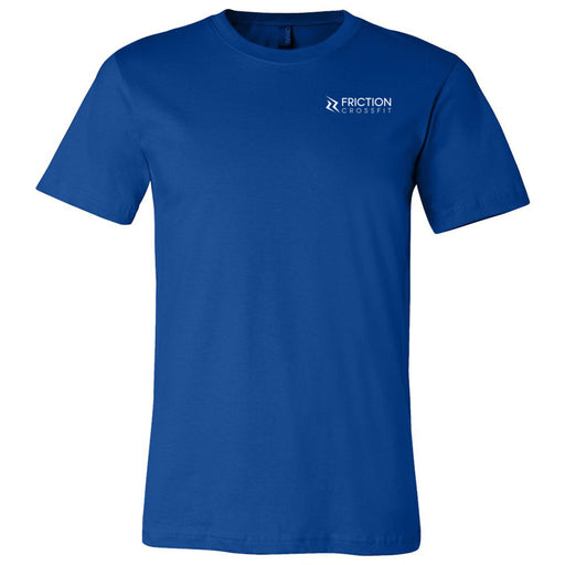 Friction CrossFit - 100 - Pocket - Bella + Canvas - Men's Short Sleeve Jersey Tee