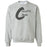 CrossFit Cibolo - 100 - Gray - Gildan - Heavy Blend Crewneck Sweatshirt
