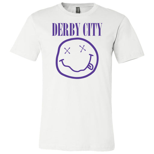 Derby City CrossFit - 200 - Nirvana Blue - Bella + Canvas - Men's Short Sleeve Jersey Tee
