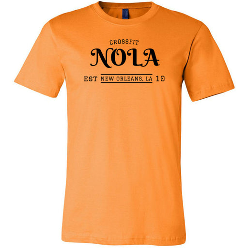 CrossFit NOLA - 100 - UU2 - Bella + Canvas - Men's Short Sleeve Jersey Tee